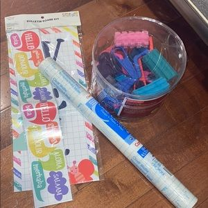 NWT teacher school supplies for activities